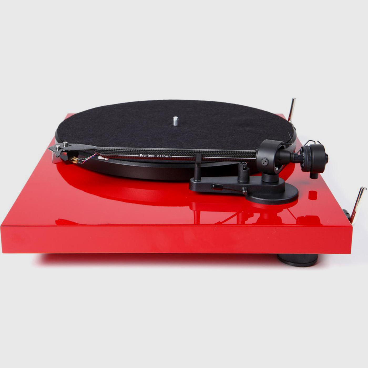 Pro Ject Debut Carbon W Ortofon 2m Red Cartridge Salon