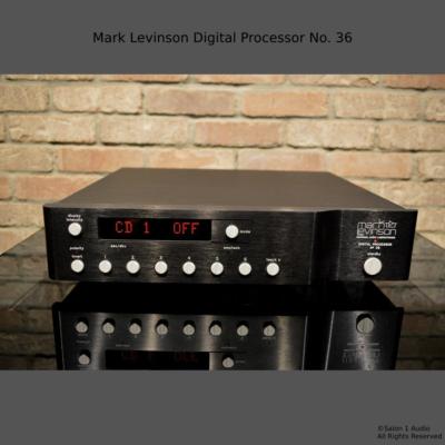 Mark Levinson Digital Processor No 36 1
